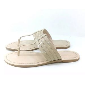 KATE SPADE Sindy Thong Sandal Honey SZ 8